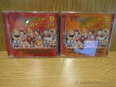 VILLANCICOS POPULARES. VOL 1 Y 2. DOBLE CD / BARBARELA - 2001. EN TOTAL 22 TEMAS. CALIDAD LUJO.