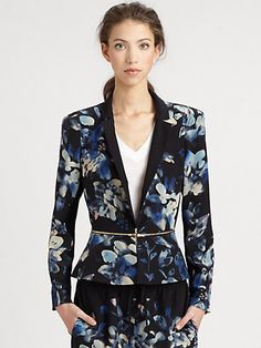 Rebecca Taylor - Hawaii Zip Jacket - Saks.com