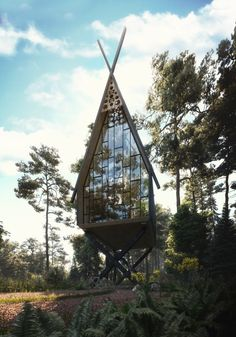 Inspired by Slavic tales - Baba Yaga house Non-commercial projectContact me if you want to cooperate