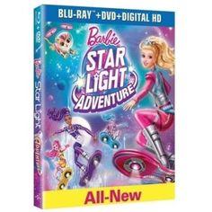 Barbie: Star Light Adventure (Blu-ray + DVD + Digital HD) - Walmart.com