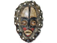 Maske der Dan Liberia/Afrika 42cm kaufen