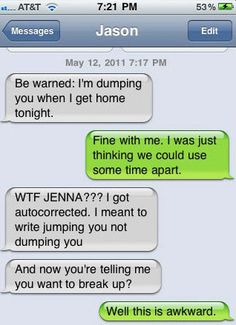 funny auto-correct texts - Misunderstandings With couple1