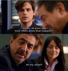 David rossi spencer reid spank due time