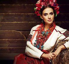 Ukrainian beautiful ethno