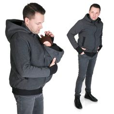 MENS Babycarrying jacket for DADS Multifunctional by fun2BEmum