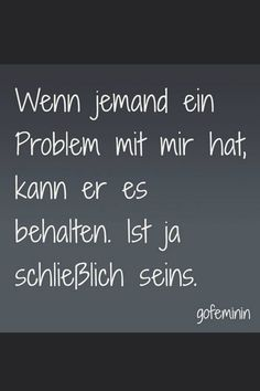 Foto 1 - Spruch des Tages: Witzige Weisheiten für jeden Tag - Words Quotes, Me Quotes, Funny Quotes, Funny Positive Quotes, German Quotes, Joelle, Susa, True Words, Cool Words