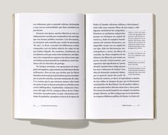 layout design - love the new take on footnotes | Astrid Stavro Studio