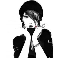 Do you like Sophie ? I absolutely love her fashion illustrations