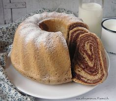 Az áfonya mámora: Kelt kuglóf Pound Cake, Nutella, French Toast, Food And Drink, Bread, Breakfast, Sweet, Recipes, Recipe