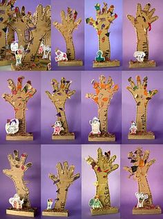 arm trees for tree homes unit