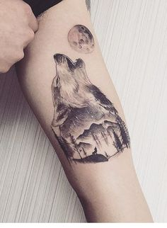 25 Wild Wolf Tattoos Design Ideas for Men - The Trend Spotter