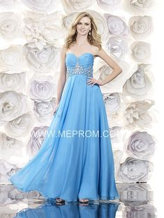Chiffon prom dress with bead decoration from ME PROM