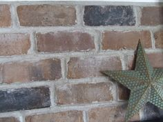 """A brick backsplash for your kitchen is easier than you may think--and far more rustic than a typical tile backsplash. Use your Arrow T50 staple gun to attach chicken wire to your wall, then cover it in """"Thin Set,"""" dry, and place your bricks on with mortar. You'll need thin-cut bricks and plenty of time, but the results are beautiful! www.arrowfastener.com"""