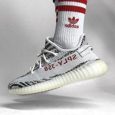 adidas zebra yeezy boost