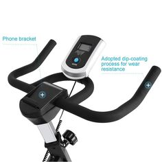Lantusi Foldable Exercise BikeMagnetic Cycling Trainer Spin Upright Bike with Seat Cushion Fitness Equipment and LCD Screen [US Stock] -- Click image for even more information. (This is an affiliate link). Bike Equipment, No Equipment Workout, Fitness Equipment, Bike Machine, Upright Bike, Spin Bikes, Gym Workouts, Spinning, Cardio