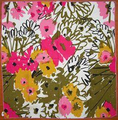 Vera Neumann napkin by Scott Lindberg x