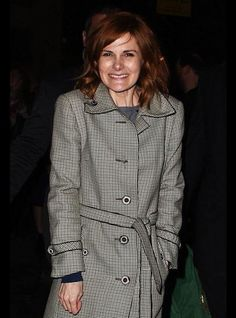 Louise Brealey outside Letters Live 2015. She's too cute!