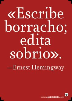 Your way or Hemingway. Ernest Hemingway, Hemingway Frases, Woman Quotes, Me Quotes, Literature Books, Pretty Words, Writing Prompts, Favorite Quotes, Positivity