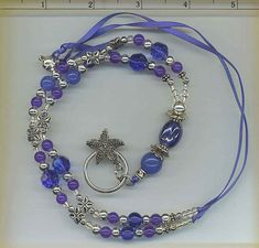 OUTSTANDING FEATURES: Real sapphire stones, free moving starfish charm    http://www.chrissystuff.com  FREE Shipping