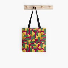 'Leaves and golden orb abstract' Tote Bag by Amanda D-Hay Large Bags, Small Bags, Cotton Tote Bags, Reusable Tote Bags, Medium Bags, Iphone Wallet, Are You The One, Amanda, Leaves