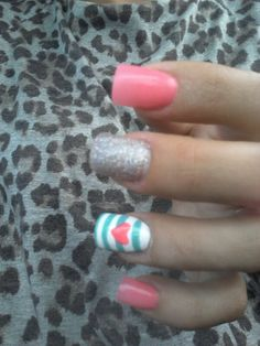 Pink glitter nails. #Nails #Beauty #Gifts #Holidays Visit Beauty.com for more.