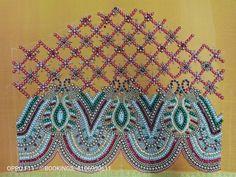 Blouse Designs High Neck, Sari Blouse Designs, Stitching, Blanket, Rugs, Crochet, Wedding, Home Decor, Costura
