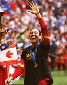 Hope Solo, Live Love, Soccer Usa