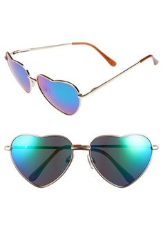 Free shipping and returns on BP. Heart Shaped 58mm Sunglasses at Nordstrom.com. Textured metal rims form sweet hearts around rosy gradient lenses.