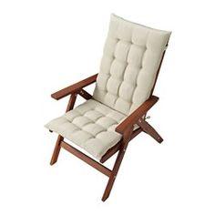 ÄPPLARÖ Säädettävä lepotuoli, ulkokäyttöön - , kokoontaitettava ruskea - IKEA