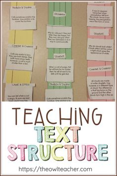 If we're being honest, teaching text structure can get a bit dull. Here are some ways to spice it up and keep your students engaged!