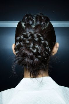 Spring 2015 New York Fashion Week Hair and Makeup | POPSUGAR Beauty. Bibhu Mohapatra Spring 2015