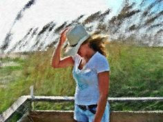 Cowgirl (Painterly Project) ~ Megan Noelle McMillan