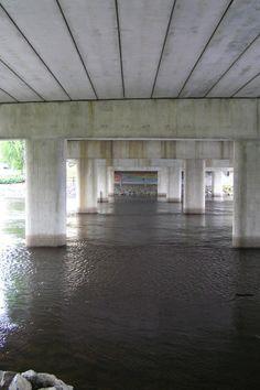 Under the bridge Varkaus Sumo/Finland