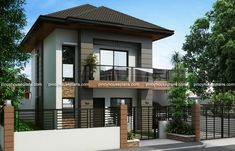 Bungalow houses designs philippines images 2 storey house design beautiful modern house designs and floor plans bungalow house design ideas for small Double Storey House, 2 Storey House Design, House Front Design, Small House Design, Modern House Design, Two Story House Design, Bungalow Haus Design, Bungalow House Plans, Modern House Plans