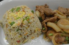 Easy Fried Rice - Mely's kitchen