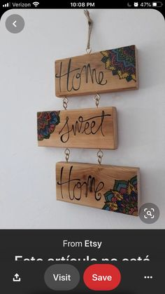 Wood Scraps, Etsy, Home Decor, Homemade Home Decor, Interior Design, Home Interior Design, Decoration Home, Home Decoration