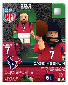 #7 Case Keenum Houston Texans Quarterback-Limited Edition OYO minifigure