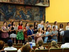 Despedida de los alumnos del 'Summer Institute of Hispanic Studies' en el Centro de Idiomas de la ULE | Universidad de León