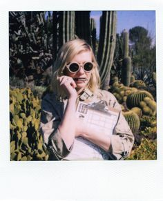 Kirsten Dunst Band of Outsiders LookBook Polaroids Fashion Photography
