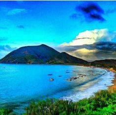 Playa la Galera,  Isla de Margarita