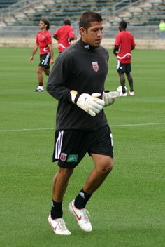 Current Real Salt Lake GK Nick Rimando was once a US Youth Soccer Cal South ODP player.