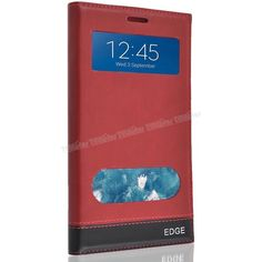 Samsung Galaxy Note Edge Çift Pencereli Kılıf Kırmızı -  - Price : TL32.90. Buy now at http://www.teleplus.com.tr/index.php/samsung-galaxy-note-edge-cift-pencereli-kilif-kirmizi.html