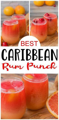Rum Punch Recipes, Alcohol Drink Recipes, Alcoholic Punch Recipes, Easy Cocktails, Cocktail Drinks, Cocktail Shaker, Simple Cocktail Recipes, Frozen Cocktails, Recipes