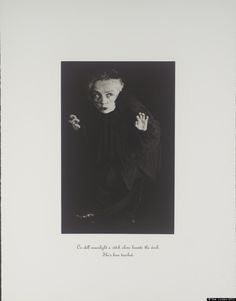 """Kiki Smith, from Out of the Woods, Untitled (Encryption) 1:5, 2002, Photo-etching on paper: 290 x 190 mm, © Tate, London 2012. """"I have always thought of myself as a crone."""""""