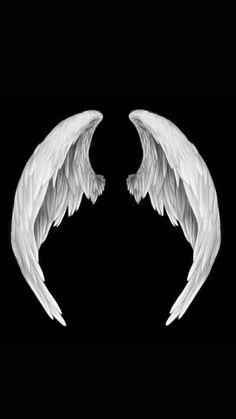 Wings Wallpaper, Angel Wallpaper, Iphone Wallpaper Fall, Dark Wallpaper, Angel Wings Png, White Angel Wings, Angel Wings Painting, Angel Wings Drawing, Lucifer Wings