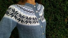 Bilderesultat for nancy kofte Fair Isle Knitting Patterns, Knitting Ideas, Ravelry, Diva, Diy And Crafts, Pullover, Creative, Sweaters, Knits