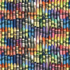 neverending box of crayons by weavingmajor, click to purchase fabric