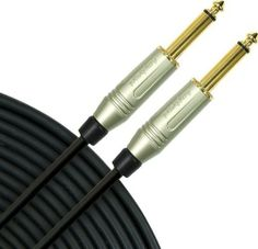 "Mogami Silver Series 1/4"" Straight Instrument Cable, 3 Foot by Mogami. $12.95. 1/4"" to 1/4"" phone plugs. Mogami Silver Series 1/4"" Straight Instrument Cable lets you hook up your axe with cable that is undeniably the standard in music recording and post-production facilities worldwide. Until now Mogami cable was only available to professionals and then only in large bulk quantities. Finally, the world's best cable is available prewired, for all live performance and music re..."