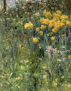 Flower Garden (1890) - Ernest Quost