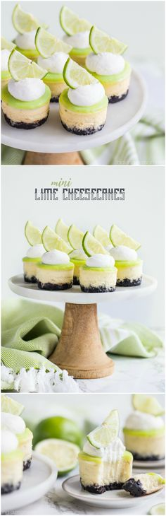 Creamy cheesecake spiked with lime and topped with a tart, buttery lime curd…